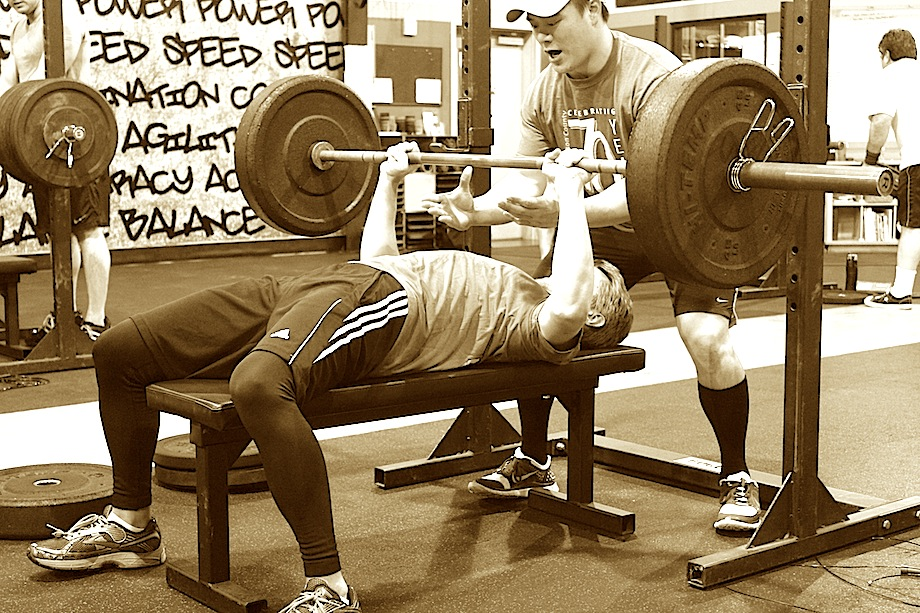 Rob can lift like this because he is WELL FED.