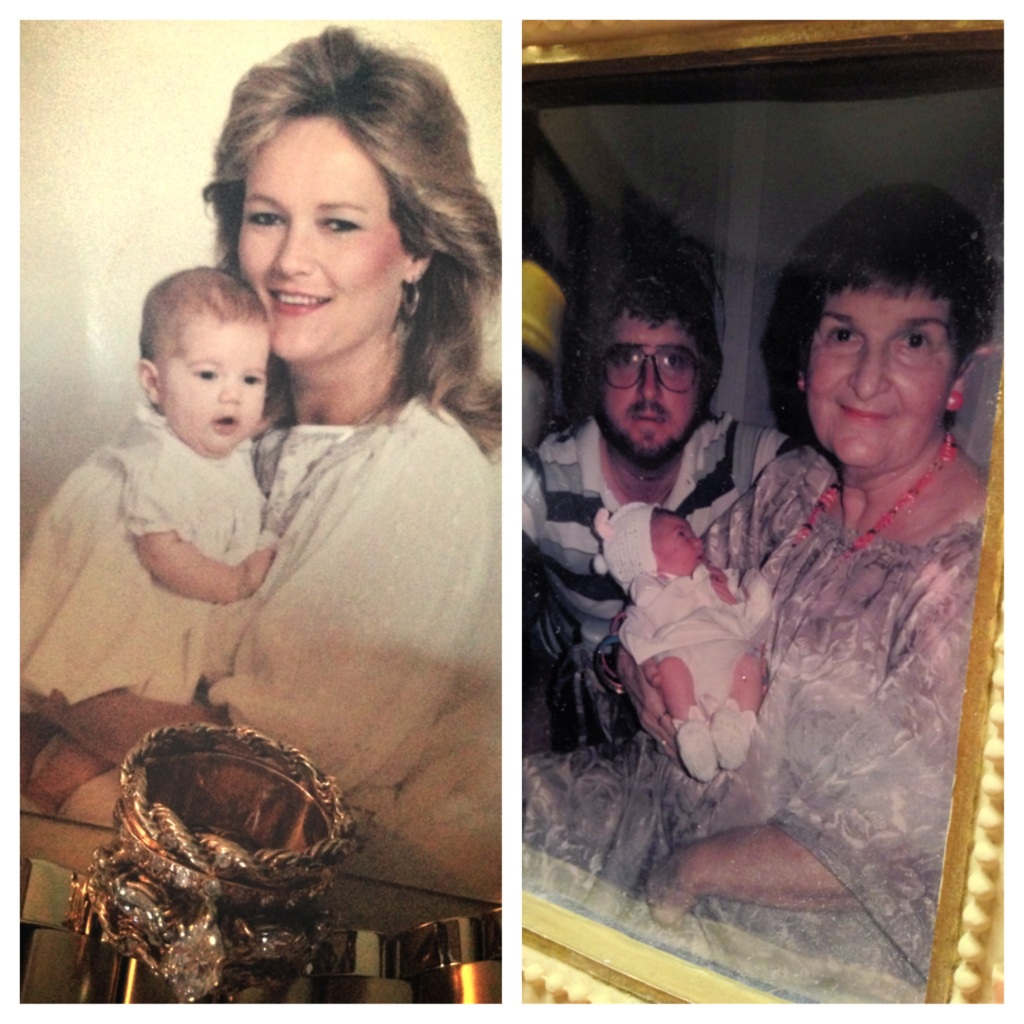 Me with Mom and me with Dad and Grandmother. Is it really any question I am my father's daughter?