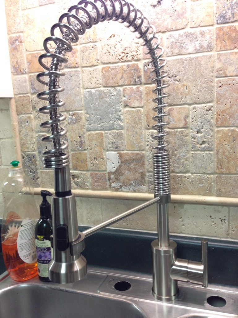 Our amazing new faucet