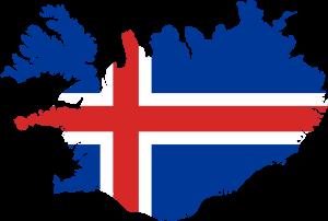 iceland-flag-map